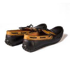 Buy Black Driving #Moccasins@ INR 1717 www.prideswalk.com