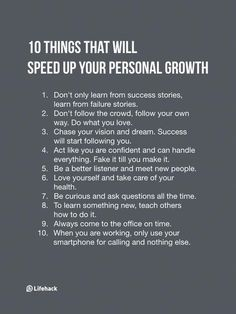 Note Of These 10 Things If You Want To Accelerate Your Personal Growth You have to first focus on yourself.You have to first focus on yourself. Life Advice, Good Advice, Self Development, Personal Development, Life Quotes Love, Self Improvement Tips, Best Self, Better Life, Self Help