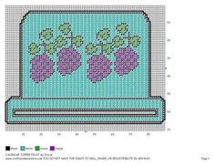 Grapes calendar topper