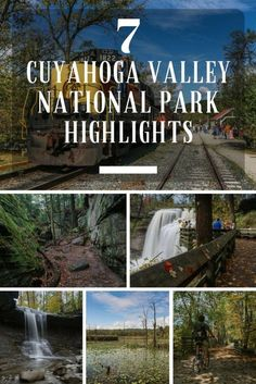 In Cuyahoga Valley National Park, Ohio: 7 Best Places To Visit 7 Cuyahoga Valley National Park Highlights, Cuyahoga Valley National Park Highlights, Ohio Camping In England, Camping In Ohio, California Camping, Camping Outdoors, Camping Gear, Backpacking, Cuyahoga National Park, Shenandoah National Park, Best Places To Camp