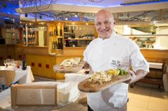 Celebrity Chef Aldo Zilli cooks up a treat for diners at San Carlo in Leicester http://www.thingstodoinleicester.com/aldo-zilli-at-san-carlo-in-leicester.html