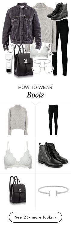 """""""Untitled #19982"""" by florencia95 on Polyvore featuring Bobbi Brown Cosmetics, Paige Denim, Frame Denim, Acne Studios, Yves Saint Laurent, Anine Bing, Humble Chic, Ray-Ban, Lonna & Lilly and Cartier"""