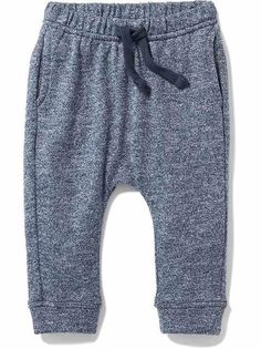 Affordable Baby Boy |old-navy grey joggers- so cute! Baby will love these cozy hipster pants! (affiliate)