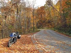 The road to Burkes Garden, Virginia, is beautiful in the fall. A feature about the area is in the April 2014 issue of Rider magazine.