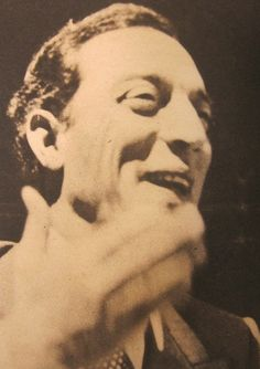 A fantastic picture of Buster Keaton smiling!
