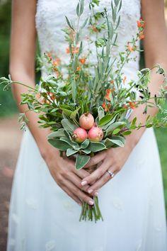 Rustic Herb Wedding Ideas
