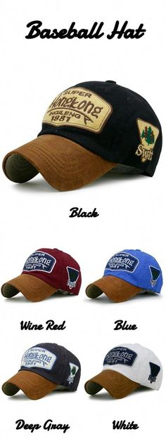 Statement Letter Embroidery Adjustable Baseball Hat gamiss  men  hats   baseball  Jeans b755d416c9e