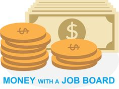 Special Guide: How to make money with a job board. Earn More Money, Ways To Earn Money, Money Saving Tips, Way To Make Money, Make Cash Online, Earn Money Online, Online Jobs, Finance Blog, Finance Tips