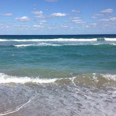The beautiful beach down in Deerfield beach Florida :)