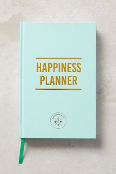 Build time for self-care into your scheduler with this Happiness 100-Day Planner.
