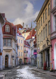 Pikk Street, Tallinn | Estonia #COLOURFULESTONIA #VISITESTONIA