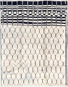 moroccan middle atlas tribe rug natural wool | Textiles & Rugs | Pinterest