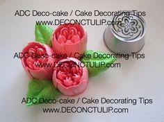 ADC Russian nozzle - Malaysian style Tip Russian Cake Decorating Tips, Easy Cake Decorating, Cake Decorating Supplies, Russian Pastries, Russian Cakes, Russian Piping Tips, Wonton Recipes, Icing Frosting, Cake Online