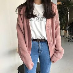 Korean Street Fashion - Life Is Fun Silo Korean Girl Fashion, Korean Fashion Trends, Korean Street Fashion, Ulzzang Fashion, Korea Fashion, Asian Fashion, Look Fashion, Korean Spring Fashion, Fashion Women
