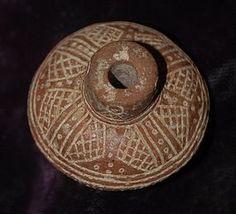 Pre-Columbian ~ MAYAN ~ Spindle Whorl
