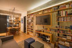 Apartamento Leopoldo: Salas de estar Moderno por Sacada