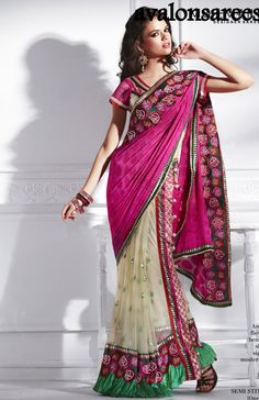 Sari Pleat maker | Home > Products > NEW ARRIVALS > Bollwood Sarees UPDATED > B2238