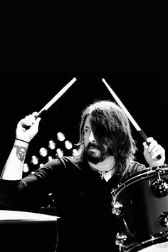Dave Grohl, all round genius-love Nirvana, and Them Crooked Vultures in particular.