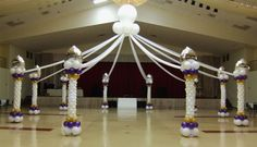 Pin by blank canvas event decorating on balloon inspiration in 2019 Prom Balloons, Balloon Dance, Casino Decorations, Balloon Decorations, Decoration Party, Casino Party Games, Casino Theme Parties, Arabian Nights Party, Casino Night Food