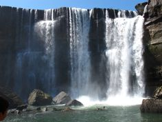 Salto del Laja Falls located in Biobío Region Chile, End Of The World, Niagara Falls, South America, Countries, Places To Go, Waterfall, Nature, Travel