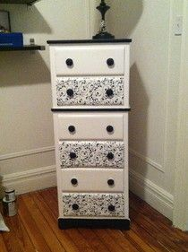 transformed dressers | How to make Drawers & Dressers · Craft tutorials and inspiration ...