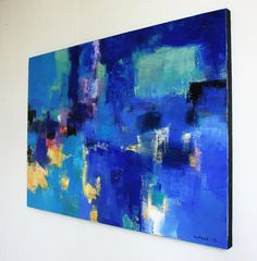 April 2015 1 Original Abstract Oil Painting by hiroshimatsumoto
