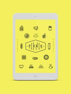 PIK NIK by Oddds , via Behance