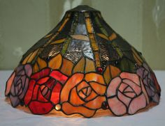 Rose Tiffany Lamp  14S0-182