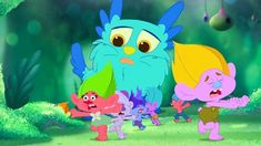 TROLLS: THE BEAT GOES ON! picks up right where the movie left off, with Queen Poppy (voiced by Amanda Leighton) learning to rule among her beloved pal… Apple Tv, Dreamworks, Troll, Beats, Poppies, Pikachu, To Go, Youtube, Fictional Characters