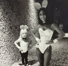 Playboy bunny Cher