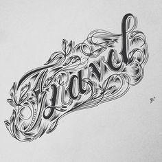 Hand Type Vol. 11 by Raul Alejandro, via Behance