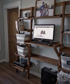 Leaning Standing Desk