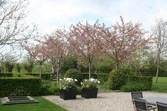 Landelijke tuin met speelhuisje, Abcoude