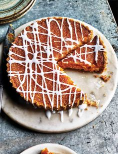With a subtle lemon flavour, this sweet and tangy treacle tart recipe is perfect for teatime.