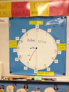 Telling Time.  We need this so bad in first grade!
