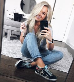 it, a shopping discovery app that allows you to instantly shop your favorite influencer pics across social media and the mobile web. Summertime Madness, Boyfriend Jeans, Personal Style, Comfy Casual, Casual Chic, Clothes, Shopping, Fashion, Dressmaking