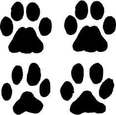 Specific Body Part Paw Paw Patch, Cricut Monogram, Flat Coated Retriever, Baby Puppies, Paw Prints, Animal Crafts, Dog Paws, Chinese New Year, I Love Dogs