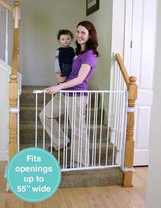 Extra Tall Top Of Stairs Safety Gate