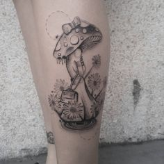 Tatuagem criada por Paula Moraes, brasileira na Espanha.