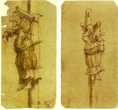 De arme kant van de Gouden eeuw. Tekeningen van Rembrandt van Elsje Christiaens aan de wurgpaal.