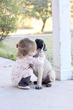 #Mastiff and a girl