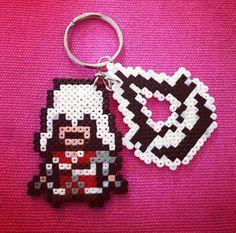 8bit/sprite Assassin's Creed: Ezio/Logo keyring