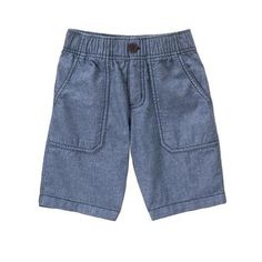 Boys Chambray The Easy-On Short by Gymboree