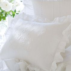 I pinned this Simple Blessings Pillow from the Taylor Linens event at Joss & Main!