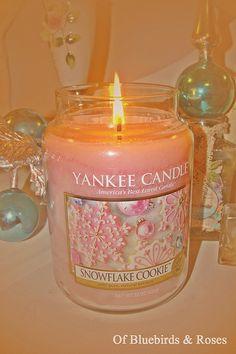 Pink Yankee Christmas Candle