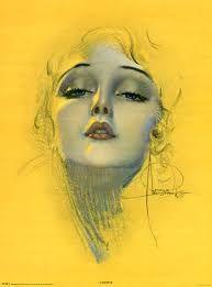 Картинки по запросу Art Deco Flapper Girl Dirty Thirties Lipstick Compact Design