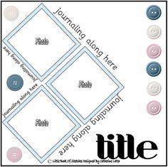 layouts 12x12 - 3 photos - LittleBookofSketches - Picasa Web Albums
