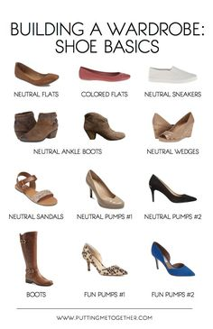 Building a Wardrobe: How to Choose Shoes