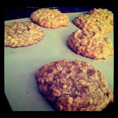 Oatmeal Cookies! Gluten, Dairy, and Sugar FREE