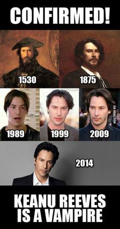 Celebs Discover Confermato Keanu Reeves è un vampiro. In ogni caso è un figo . Funny Images Funny Pictures Poster S Mind Blown Laugh Out Loud The Funny Just In Case I Laughed Fun Facts Lol Memes, Crazy Funny Memes, Stupid Funny Memes, Memes Humor, Funny Relatable Memes, Haha Funny, Funniest Memes, Sarcastic Memes, Funny Images